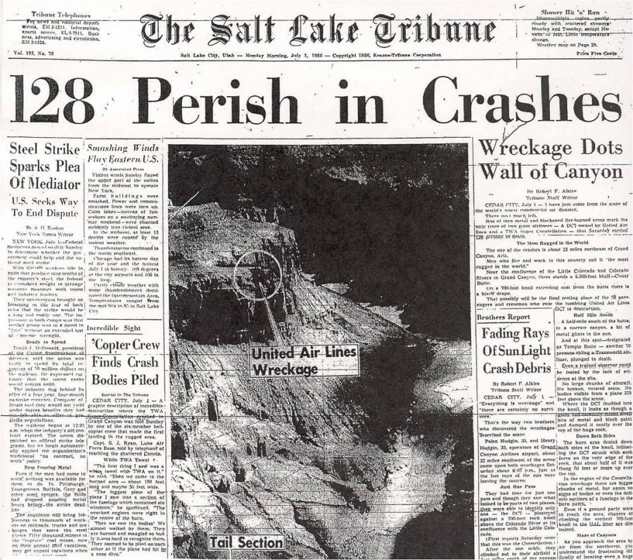 jtweatherly com - 1956 Grand Canyon Crash